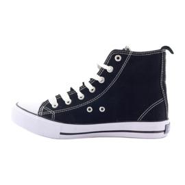 American Club hoge sneakers LH02 zwart 2