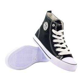 American Club hoge sneakers LH02 zwart 3