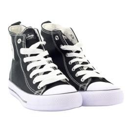 American Club hoge sneakers LH02 zwart 4