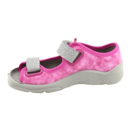 Befado kinderschoenen 969X163 roze zilver 2