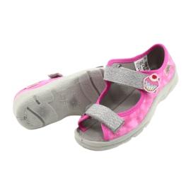 Befado kinderschoenen 969X163 roze zilver 4