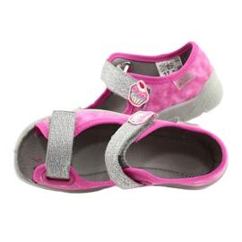 Befado kinderschoenen 969X163 roze zilver 5