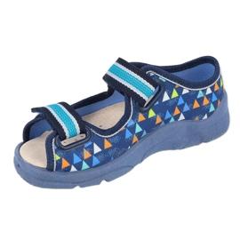 Befado kinderschoenen 869X164 blauw 1