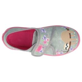 Befado kinderschoenen 560X171 roze grijs 3