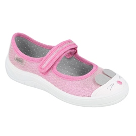 Befado kinderschoenen 208X045 roze 1