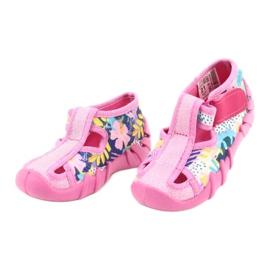 Befado kinderschoenen 190P097 roze veelkleurig 3