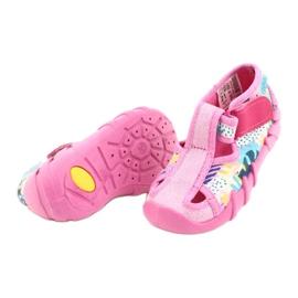 Befado kinderschoenen 190P097 roze veelkleurig 4