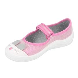 Befado kinderschoenen 208X045 roze 2