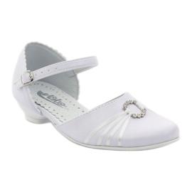 Hoffelijkheid ballerina schoenen Miko 710 wit 1