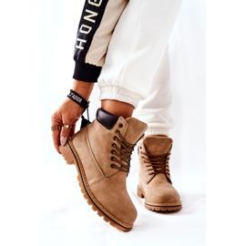 PH1 Beige Crush warme laarzen voor dames bruin 1