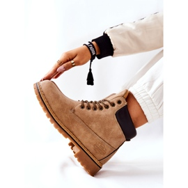 PH1 Beige Crush warme laarzen voor dames bruin 7