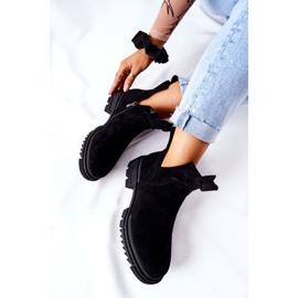 POTOCKI Zwarte Corano-laarzen met uitgesneden rits 1