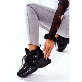 POTOCKI Sport zwarte Hesane sleehak schoenen 3