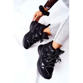 POTOCKI Sport zwarte Hesane sleehak schoenen 1