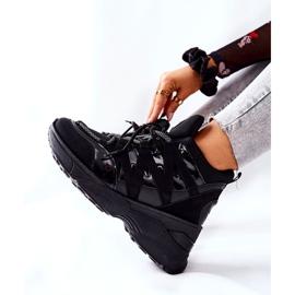 POTOCKI Sport zwarte Hesane sleehak schoenen 2