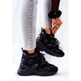 POTOCKI Sport zwarte Hesane sleehak schoenen 4