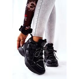 POTOCKI Sport zwarte Hesane sleehak schoenen 6