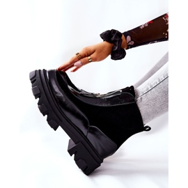 Leren geïsoleerde laarzen Laura Messi Zwart 2371 5