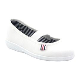 Slippers voor meisjes Befado 274X013 wit 1
