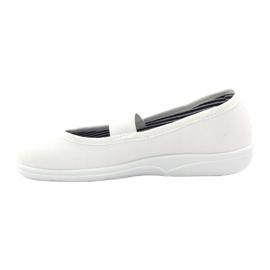 Slippers voor meisjes Befado 274X013 wit 2