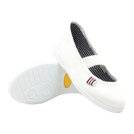 Slippers voor meisjes Befado 274X013 wit 3