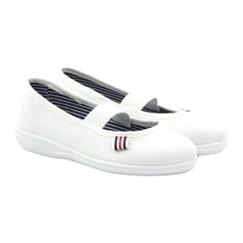 Slippers voor meisjes Befado 274X013 wit 4